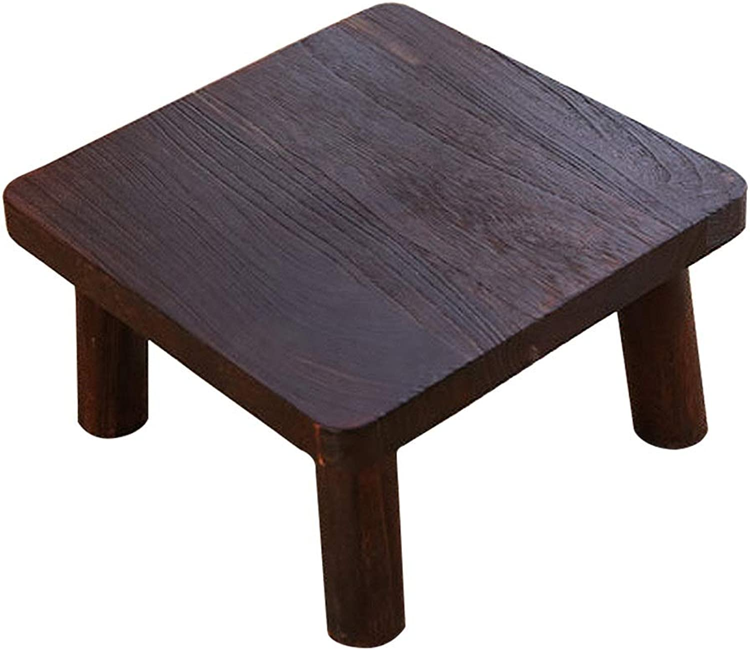 Coffee Tables Small Table Coffee Table Paulownia Wood Side Table Simple Low Table Lazy Computer Table Tatami Platform Solid Wood Table Mini Solid Wood Table (color   Brown, Size   40  40  22cm)