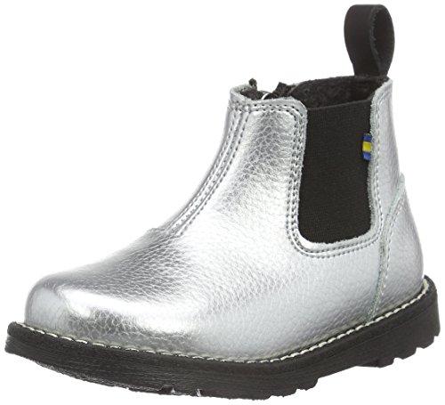 Kavat Nymölla XC, Chelsea Boots Mixte Enfant, Argenté (Silver 981), 25 EU