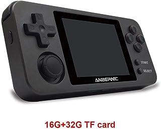 N/P RG280M ハイマッチ ポータブルゲーム機 Retro Game システム 振動モーター 2.8インチIPSスクリーンを、内蔵1000ゲーム シミュレータ互換機ルゲーム機 companionable