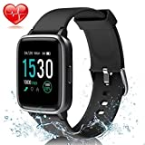 """MayuFit Fitness Tracker Watch Heart Rate Monitor with 1.3"""" Color Screen IP68 Waterproof"""