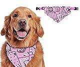 Shengruili Collar con Bandanas para Perro,para Collar de Perro Triángulo,Pañuelos para Perros,Baberos para Mascotas,Cuello PañUelo para Perros,Bandana Lavable para Perro,Pajaritas para Mascotas (B)