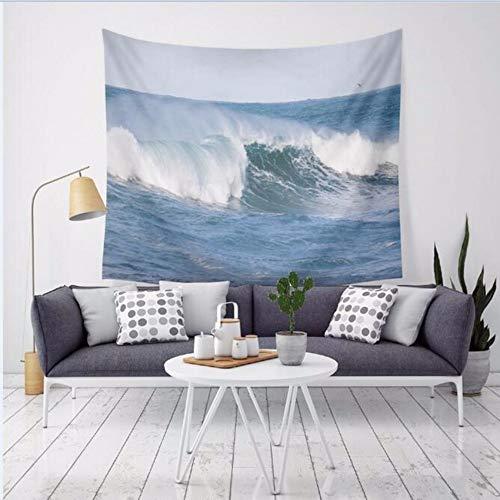 Djkaa wandtapijt, motief oceaangolf, motief surf op de zee, Scenic, wandtapijt, polyester, dun, yogamat, nieuwe decoratie voor thuis 150x130cm