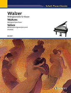 Waltzes: 48 Original Piano Pieces