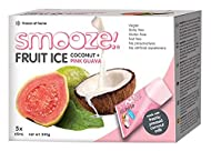 Smooze - Ice Lollies - Pink Guava and Coconut, Pack of 2