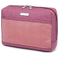 MiCHTUNE Professional Portable Canvas Large Makeup Bags