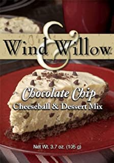 Wind and Willow Chocolate Chip Cheeseball & Dessert Mix - 3.7 Ounce (4 Pack)