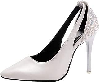 RAZAMAZA Women Elegant Pumps Stiletto Shoes Slip On
