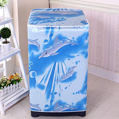 Sannysis Dekorative Abdeckkappen Universal Desktop Beutelabdeckung Staubabdeckung Tuch MÃbelstoff Waschmaschine groÃe KÃche x-003
