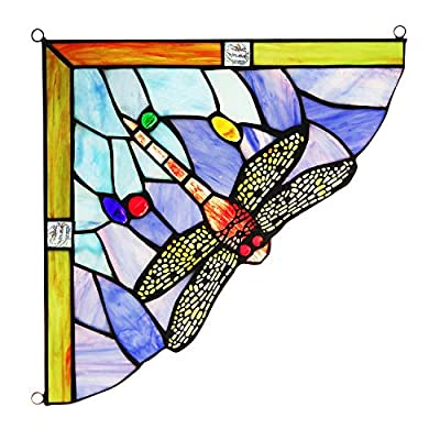 Capulina Stained Glass Birds, Tiffany Glass Panel, 4 Birds on a Wire Stained Glass, Tiffany Glass Panel, Tiffany Stained Glass Panel, Ideas for Stained Glass Panels … by