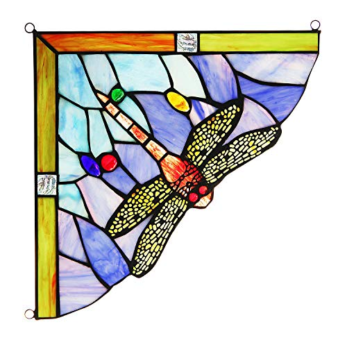 Capulina Handgefertigte Glasmalerei, Tiffany-Glas-Fensterplatten, Ideen für Buntglasscheiben heller, Tiffany-Stil Buntglas-Fensterpaneele