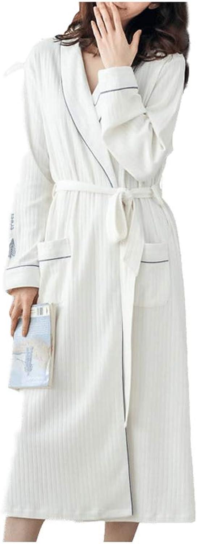 Women's cotton bathrobe, bathroom shower spa spa women's light robes