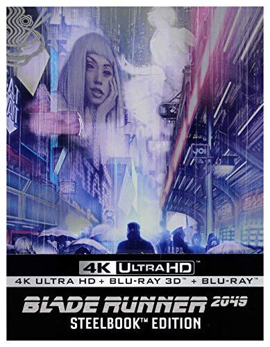 Blade Runner 2049 3-Discs Steelbook Edition 4K Ultra HD + Blu-Ray 3D + Blu-Ray [Region Free]