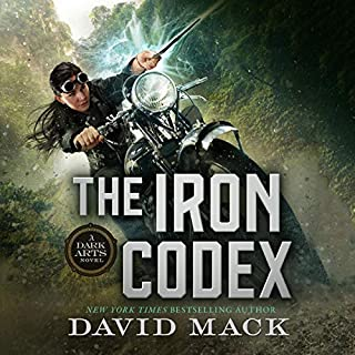 The Iron Codex audiobook cover art