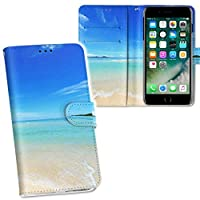 igcase iPhone6s 専用ケース 手帳型 スマホカバー 両面プリント iphone6s ケース カバー レザー ケース 手帳タイプ フリップ ダイアリー 二つ折り 革 フルデザイン 009637 風景 海 空 写真