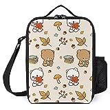 Bolsa de almuerzo aislada para mujer, bolsa térmica con aislamiento ancho, resistente al agua, a prueba de fugas, organizador de almuerzo para hombres y niñas y niños al aire libre