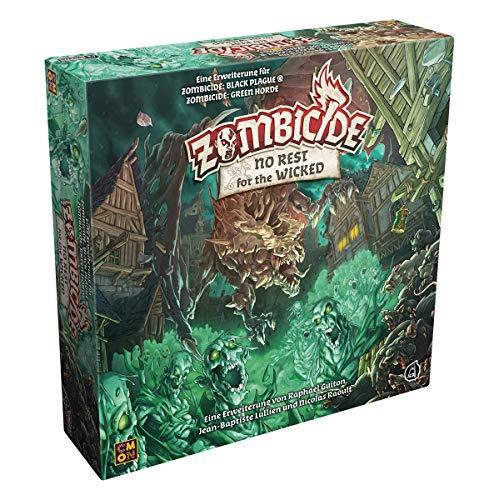 Asmodee Zombicide Green Horde - No Rest for the Wicked, Erweiterung, Expertenspiel, Dungeon Crawler, Deutsch