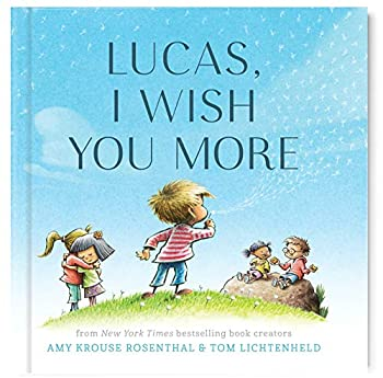 I Wish You More Book Personalized Edition