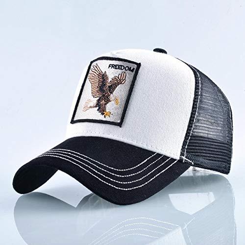 Gorra de béisbol Bordada con Animales a la Moda para Hombres y...