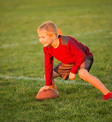 Active Kyds Sports Ball Set: Football, Soccer Ball, and Basketball with Hand Pump