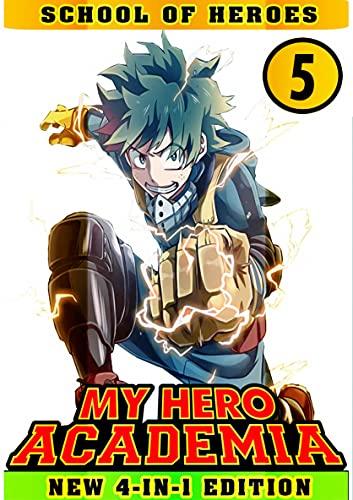 School Of Heroes: Book 5 Collection - Manga My Action Hero Shonen Academia Adventure Fantasy (English Edition)