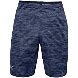 Under Armour MK1 Twist - Pantalón corto para hombre, color azul