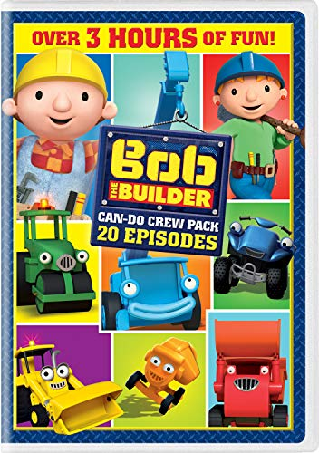 Bob the Builder: 20 Episodes Can-Do Crew Pack [DVD]