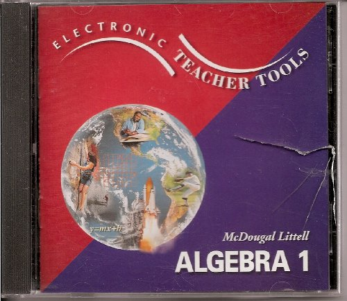 Title: McDougal Littell High School Math Electronic Teach