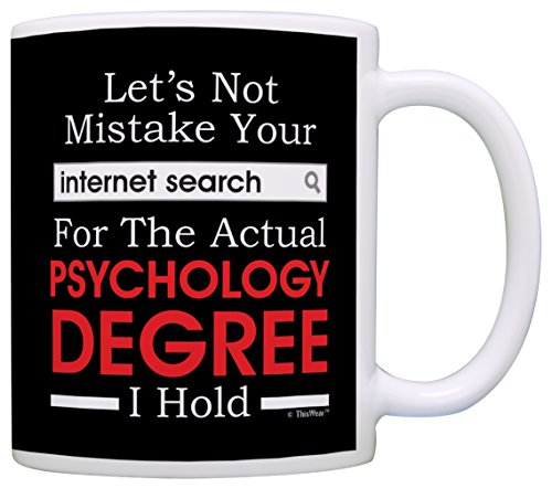 Funny Psychology Gift Mug
