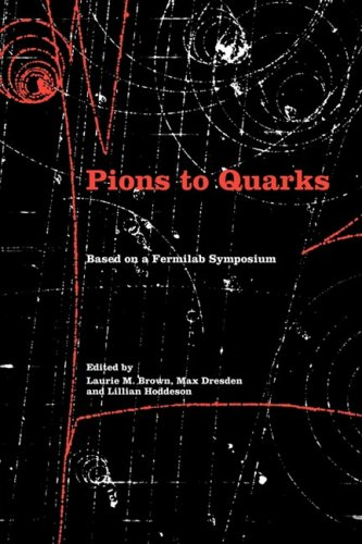 Pions to quarks. Particle physics in the 1950s. Based on Fermilab symposium
