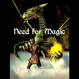 Need for Magic audiobook cover art