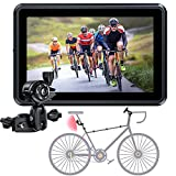 Bike Mirror,Rear View Camera 1080p Full BD with 4.3 Inch Display and 145° Wide View Angle,Night Vision,Compatible with Bicycle,Mountain,Road Bike