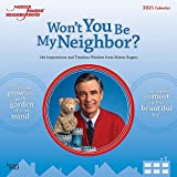 Mister Rogers' Neighborhood 2021 12 x 12 Inch Monthly Square Wall Calendar, PBS Series Television