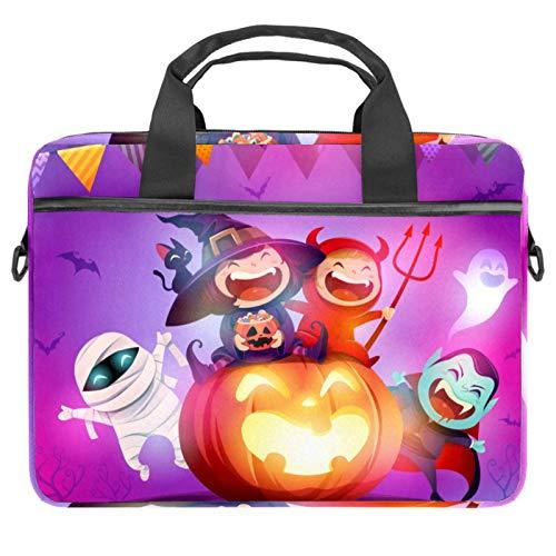 Bolsa para porttil con asa de 34 a 36,8 cm, para disfraz de Halloween