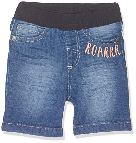 s.Oliver Baby-Jungen 65.904.72.2036 Shorts, Blau (Blue Denim Stretch 55z2), (Herstellergröße: 74)