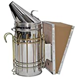 VIVO Stainless Steel Bee Hive Smoker with Heat Shield, Beekeeping...