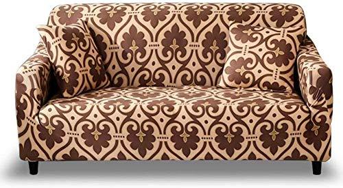 ENLAZY Schonbezug Sofa 1-teiliger Stretch-Sofabezug aus Spandex-Jacquard-Stoff Schonbezüge 1 2 3 4-Sitzer-Sofabezug aus Polyester-Spandex-Stretch-Sofabezug,V,1-Sitzer