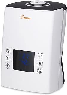 Crane Digital Ultrasonic Warm & Cool Mist Humidifier, 1.2 gallon, Filter Free, Wireless Remote Included