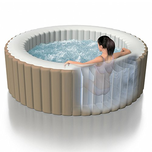Intex Whirlpool Pure SPA 77″ Bubble Massage, Braun, Ø 196 x 71cm - 3