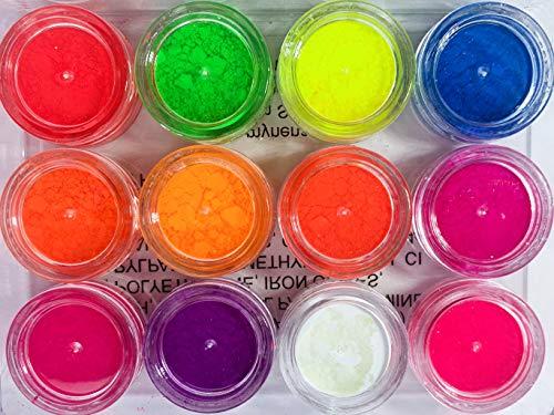 Mynena Neon Eyeshadow Pigment Powder 12 Colors