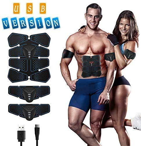 NOWKIN EMS Electroestimulador Muscular Abdominales,