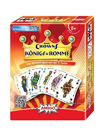Amigo 01662 Roi de Rommé Five Crowns Jeu,