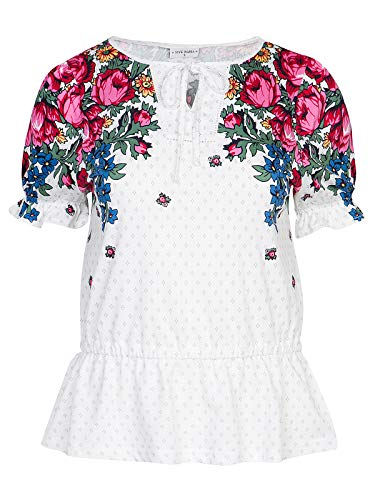 Vive Maria Piroshka Summer Blouse White Allover