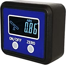 Angle Gauge, eOUTIL Digital Protractor/Inclinometer/Angle Finder with V-Groove Magnetic Base - Precision Level Box for Automobile, Woodworking, Building, Drilling Machinery, Masonry etc