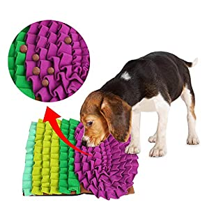 ALL FOR PAWS Dog Slow Feeders Pet Snuffle Mat for Dogs, Interactive Feed Game for Boredom, Dog Treat Dispenser Indoor Outdoor Stress Relief