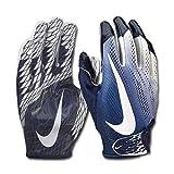 Nike Vapor Knit 2.0 Design 2018 Receiver Handschuhe - Navy/weiß Gr. S