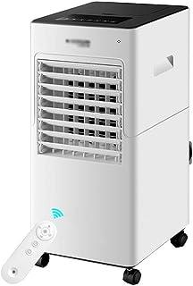 XSJZ Ventilador de Aire Acondicionado Móvil, Refrigeración Más Agua Ventilador Eléctrico Piso Solo Frío Tipo Aire Frío Ventilador de Enfriamiento de Agua Hogar Pequeño Ahorro de Energía Enfriador Port