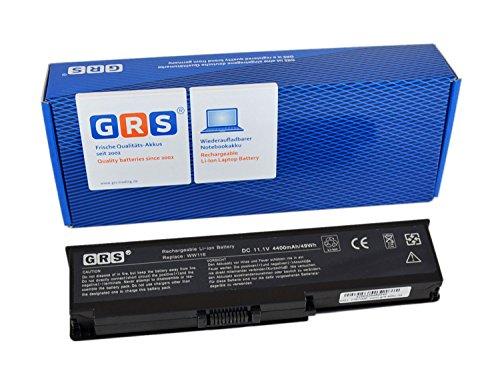 GRS Batterie d'Ordinateur Portable pour FT080, Dell Vostro 1400, Inspiron 1420, 4400 mAh