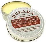 DELARA - Cuidado intensivo para muebles de muy alta calidad con cera de abeja y aceite de coco, 150 ml, fabricado en Alemania