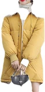 Macondoo Womens Down Outwear Faux Fur Hood Winter Parka Jackets Coat