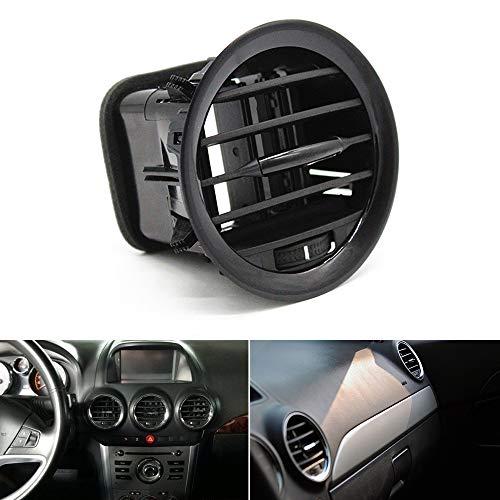 Carrfan Panel de Ventilación de Aire Cubierta de Rejilla de Ventilación Boquilla de Ventilación de Aire Rejilla Piano Negro Ajuste para Opel Corsa D Adam 2201099